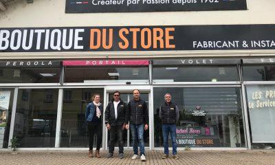 Equipe général stores boutique du store